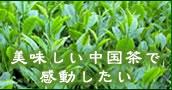 美味しい中国茶で感動したい